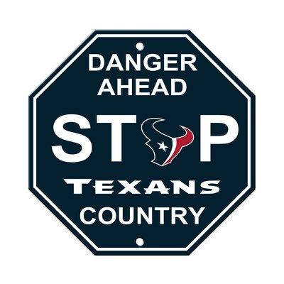 NFL Stop Sign NFL Team: Houston Texans