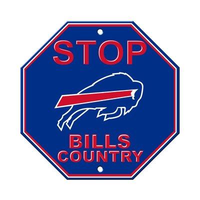 NFL Stop Sign NFL Team: Buffalo Bills