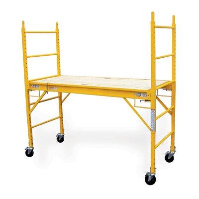 Mini Multipurpose Steel Scaffolding Platform Ladder