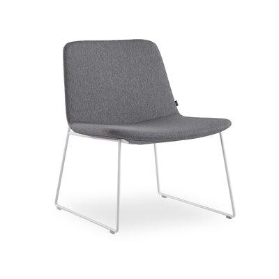 Fechteler Side Chair Seat Color: Gray, Finish: White