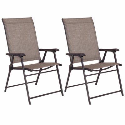 Camping Deck Garden Sling Patio Fabric Folding Chair