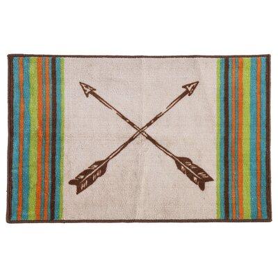 Zanders Arrow Designed Bath Rug