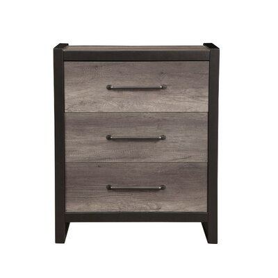 Bonenfant 3 Drawer Accent Chest