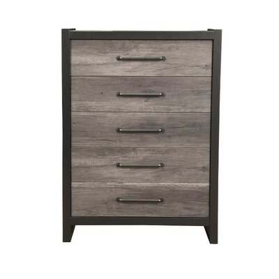 Boneta Spacious 5 Drawer Accent Chest