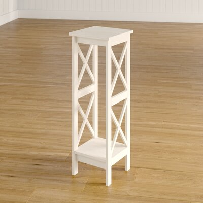 """Eamon Multi-Tiered Plant Stand Color: Unfinished, Size: 36"""" H x 12"""" W x 12"""" D"""