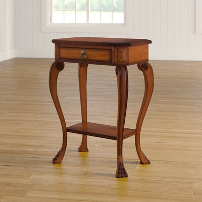 Copley Channing Console Table Color: Olive Ash Burl