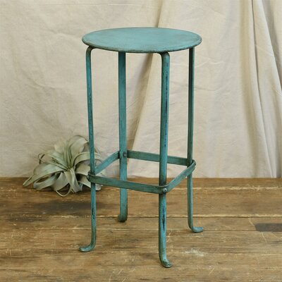 Felty Pedestal Plant Stand Color: Teal