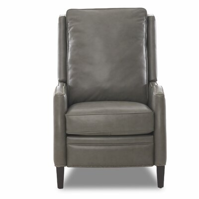 Bassford High Leg Leather Power No Motion Recliner