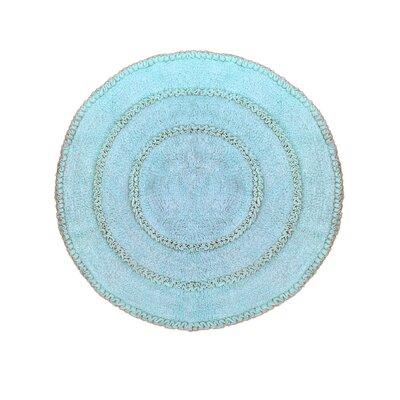 Gadbois Round Bath Rug Color: Blue