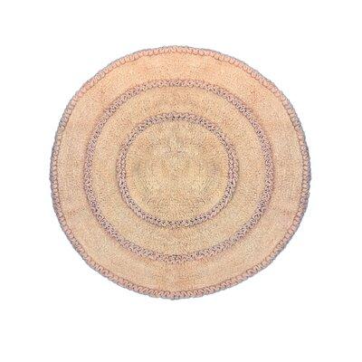 Gadbois Round Bath Rug Color: Linen