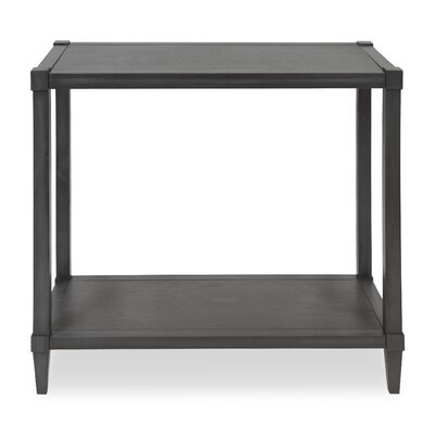 Gretchen Wood Console Table Color: Dark Gray