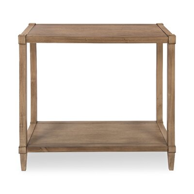 Gretchen Wood Console Table Color: Light Brown