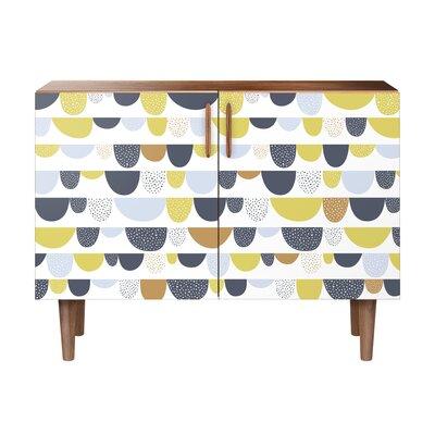 Mcclelland 2 Door Cabinet Color: Walnut