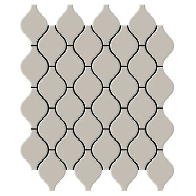 "Shape 2"" x 2"" Porcelain Mosaic Tile in Fawn"