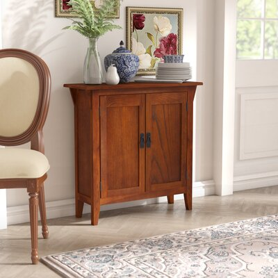 Apple Valley Foyer Cabinet/Hall Stand Color: Russet/Blackened