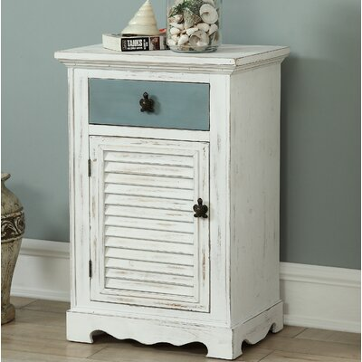 Frisby 1 Drawer Accent Cabinet