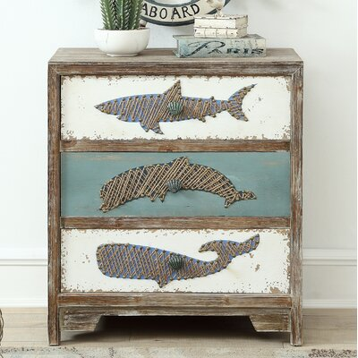 Fromm 3 Drawer Accent Chest
