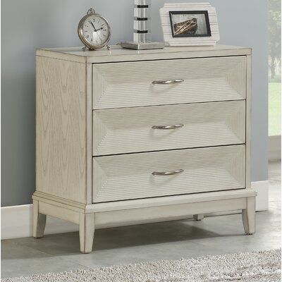 Lagasse 3 Drawer Accent Chest