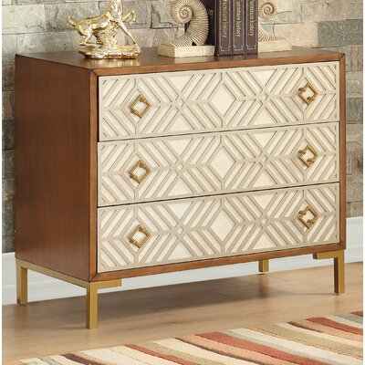 Lake Macquarie 3 Drawer Accent Chest