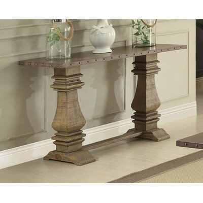 Rhea Wood/Metal Console Table