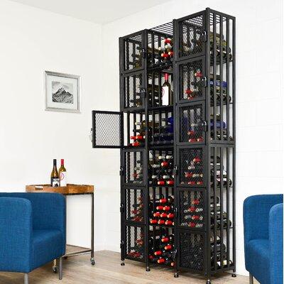 Locker 384 Bottle Floor Wine Rack