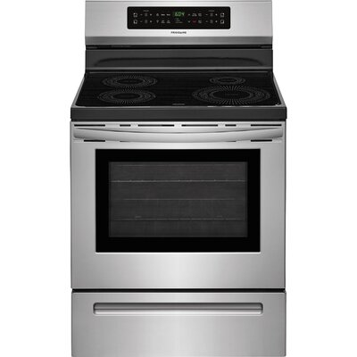 "30"" Free-standing Electric Range Finish/Color: Stainless Steel"