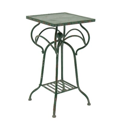 Yarbro Multi-Tiered Plant Stand Color: Antique Green