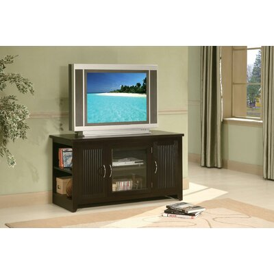 """Domenic Transitional Fluted Wooden 48"""" TV Stand"""