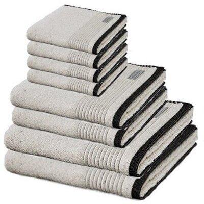 Ching Premium 8 Piece 100% Cotton Towel Set