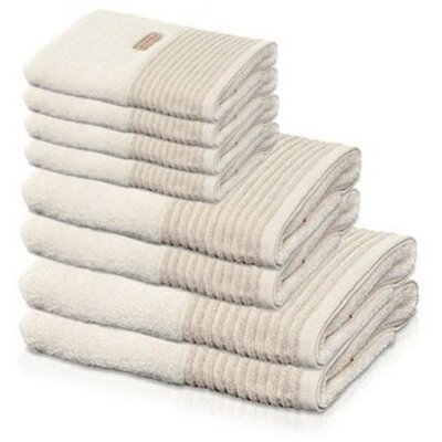 Chittening Premium 8 Piece 100% Cotton Towel Set