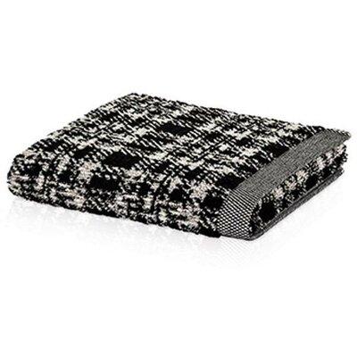 Chism Looped Hem Premium 100% Cotton Hand Towel Color: Black