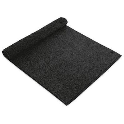 Chism Absorbent Cotton Bath Rug Color: Black
