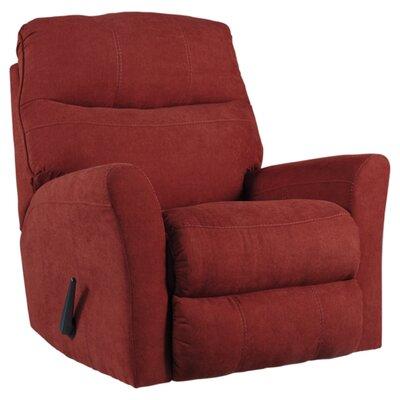 Jesse Manual Rocker Recliner Upholstery: Sienna