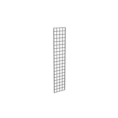 "60"" H x 1"" W Grid Panel Finish: Black"