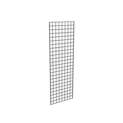 "72"" H x 24"" W Grid Panel Finish: Black"