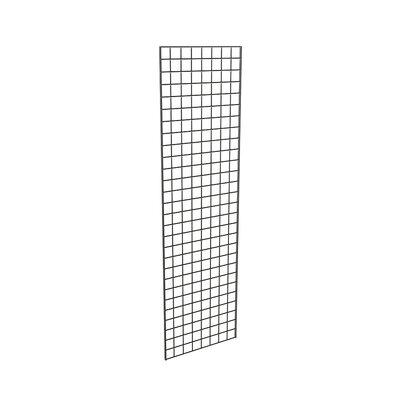 "84"" H x 24"" W Grid Panel Finish: Black"