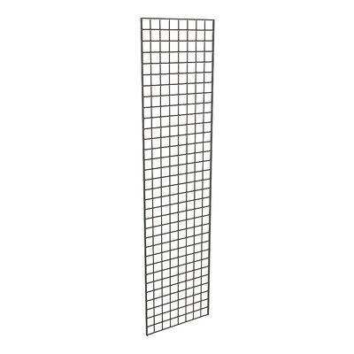 "96"" H x 24"" W Grid Panel Finish: Black"