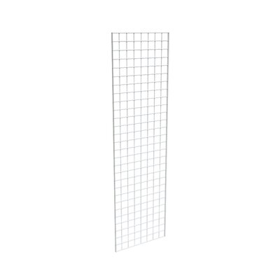 "84"" H x 24"" W Grid Panel Finish: White"