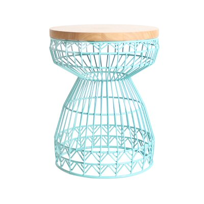 Sweet Accent Stool Frame Color: Aqua
