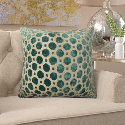 "Kaminski Luxury Pillow Size: 16"" x 16"", Fill Material: H-allrgnc Polyfill"
