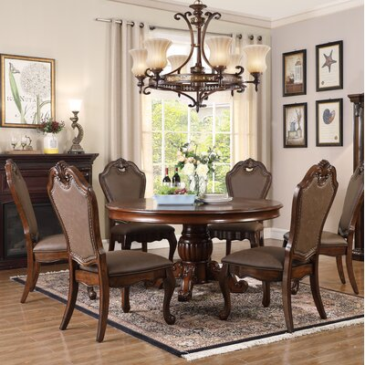 Lowrance 5 Piece Dining Set Color: Brown