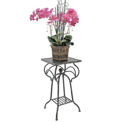 Yarbro Multi-Tiered Plant Stand Color: Black