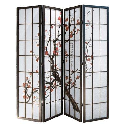 Quesinberry Shoji 4 Panel Room Divider