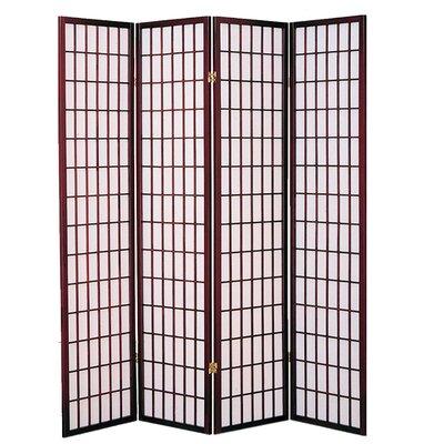 Quiles Shoji Room Divider Number of Panels: 4