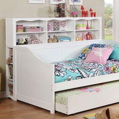 Damarion Standard Bookcase Color: White