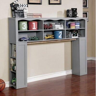 Damarion Standard Bookcase Color: Gray