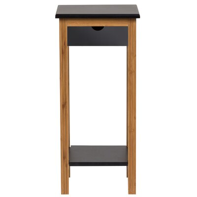 Hatton Plant Table Color: Black