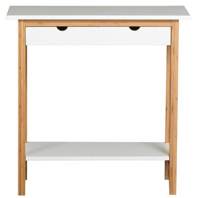 Bollinger Console Table Color: White