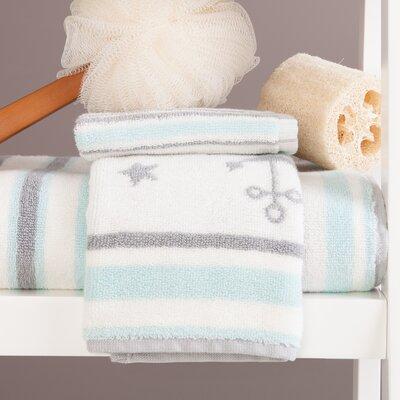 Wembley Anchor 3 Piece 100% Cotton Towel Set