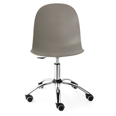 Hampson Office Chair Color: Matte Taupe